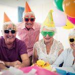 Senior Citizens Celebrating
